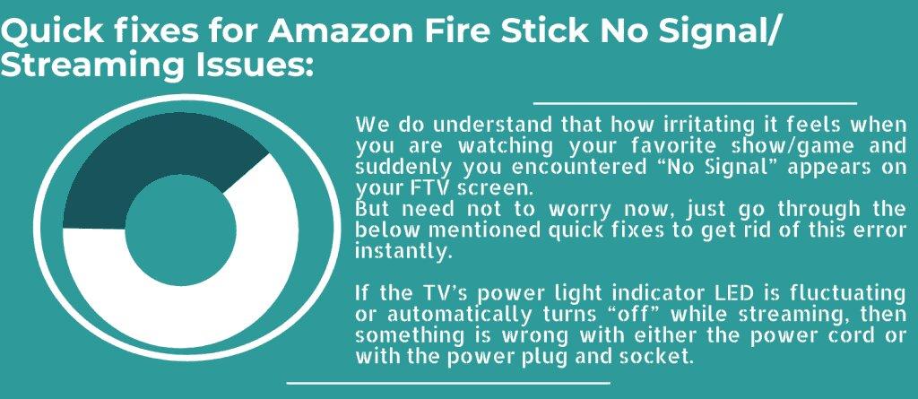 no signal firestick