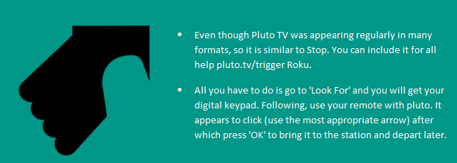 Activate Pluto TV helpline 1