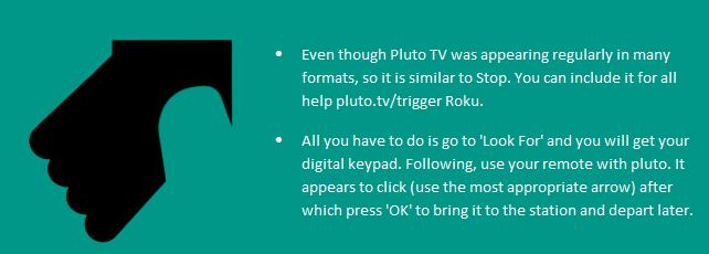 Activate Pluto TV helpline 1