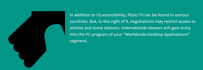 Activate Pluto TV support