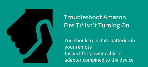 Amazon Fire TV Isnt Turning On