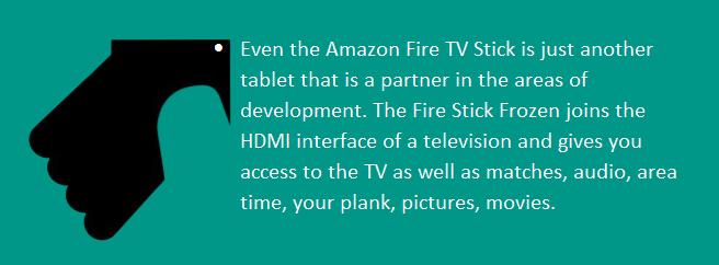 fire tv stick frozen