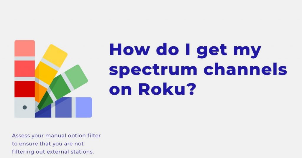 roku spectrum app missing channels