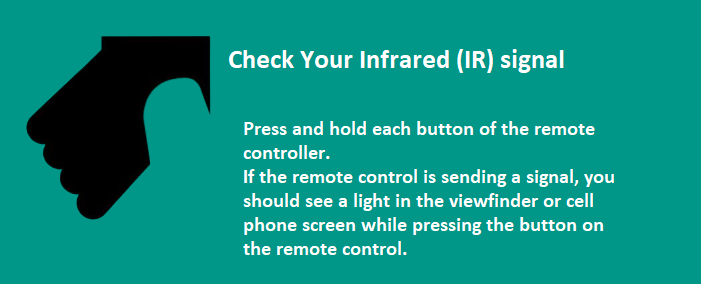 Check Your Infrared