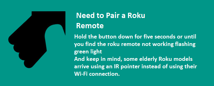Need to Pair a Roku Remote
