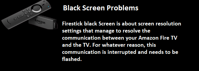 Black Screen Problems