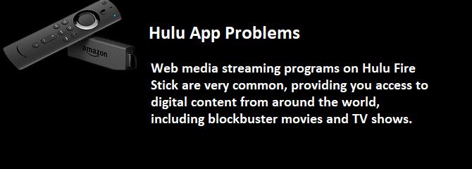 Hulu App Problems