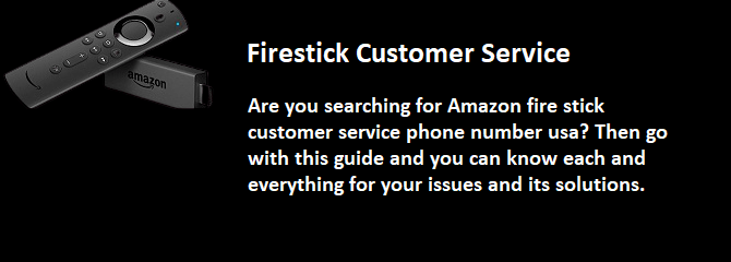 firestick customer service
