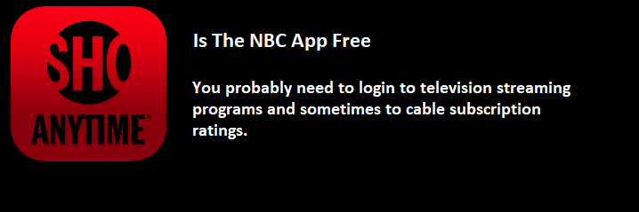 NBC app free
