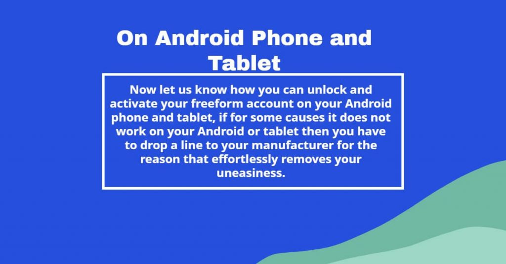 Android Phone and Tablet