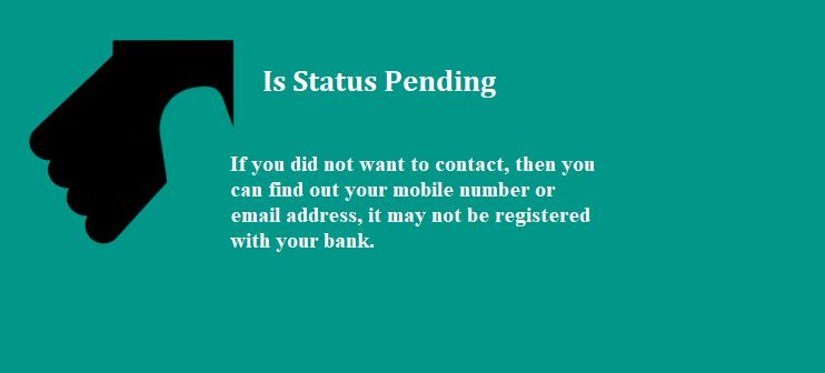 Is Status Pending