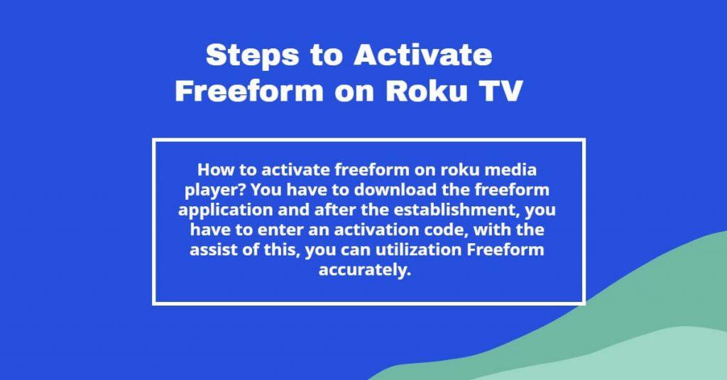 freeform com activate