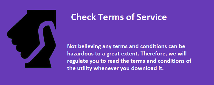 Check Terms of Service