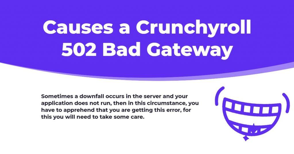 crunchyroll error 502