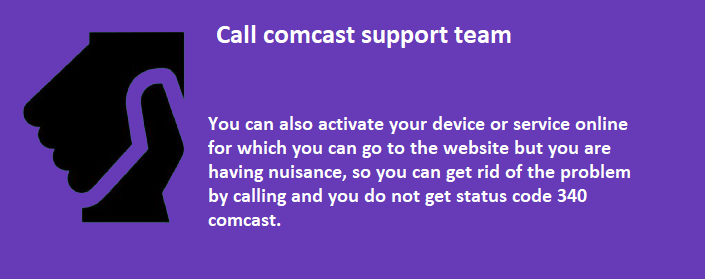 comcast tv status code 340