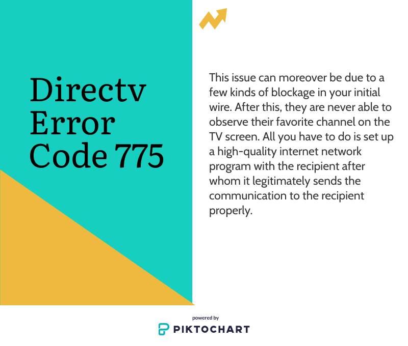 directv error code 7754