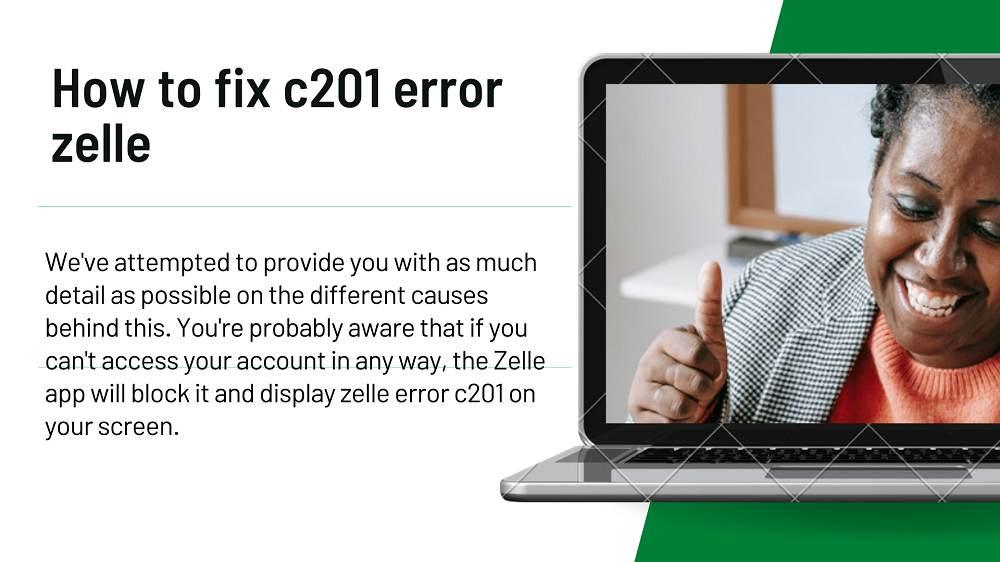 zelle error c201
